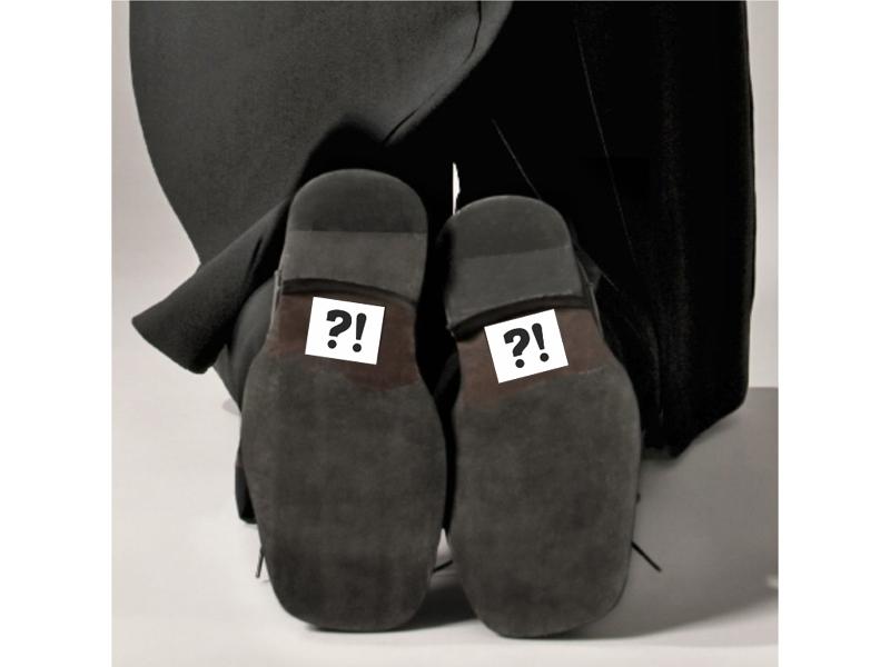 Nálepky na boty 2 KS  - Obrázek č. 1