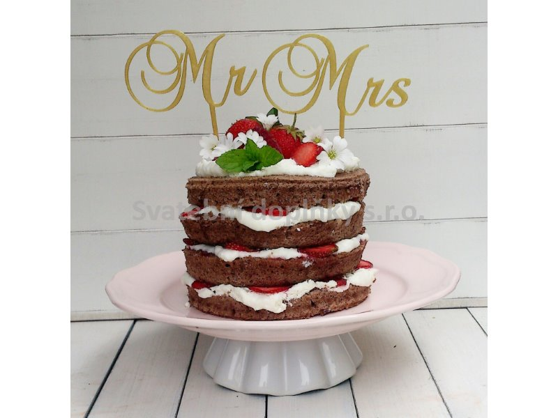 """Zápich """" Mr a Mrs """" - Obrázek č. 1"""