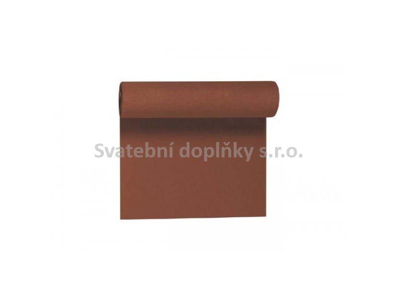 Šerpa DUNI papírová hnědá - Obrázek č. 1