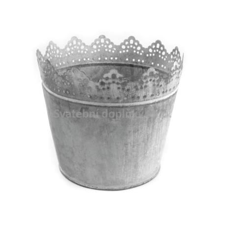 Květináč kovový - Obrázek č. 1