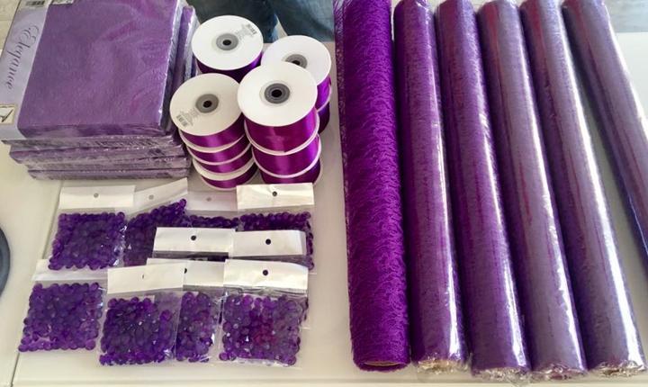 Nabízíme LEVNÉ svatební dekorace v různých barvách - Obrázek č. 1