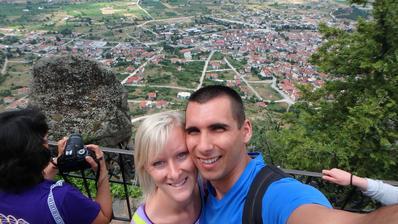 svatební cesta Řecko - výlet na Meteory