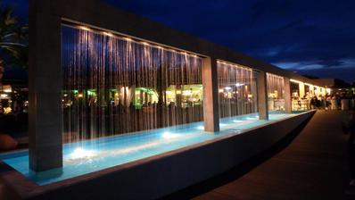 svatební cesta Řecko - náš hotel večer