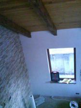 pohľad z galérie do obývačky...