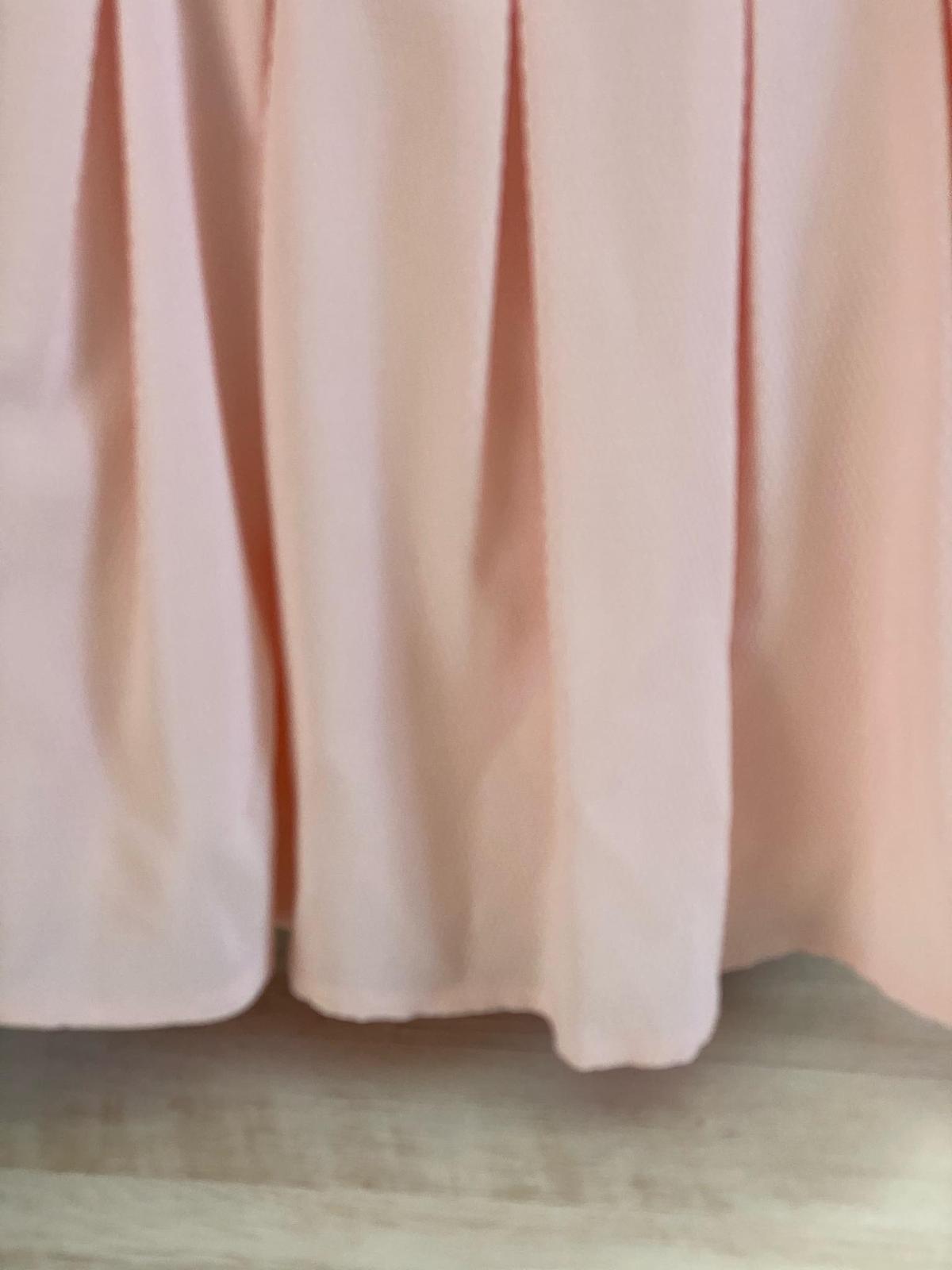 Lososové šaty vel.38 - Obrázek č. 3