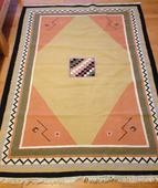 Vlnený koberec 200x145 polovica ceny,