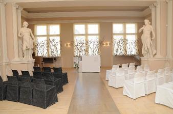 Takhle vypadá obřadní místnost nádhera