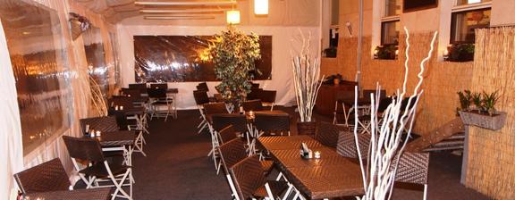 Ve hře je taky zimní zahrada v restauraci Mattes v ulici Na strži Praha 4