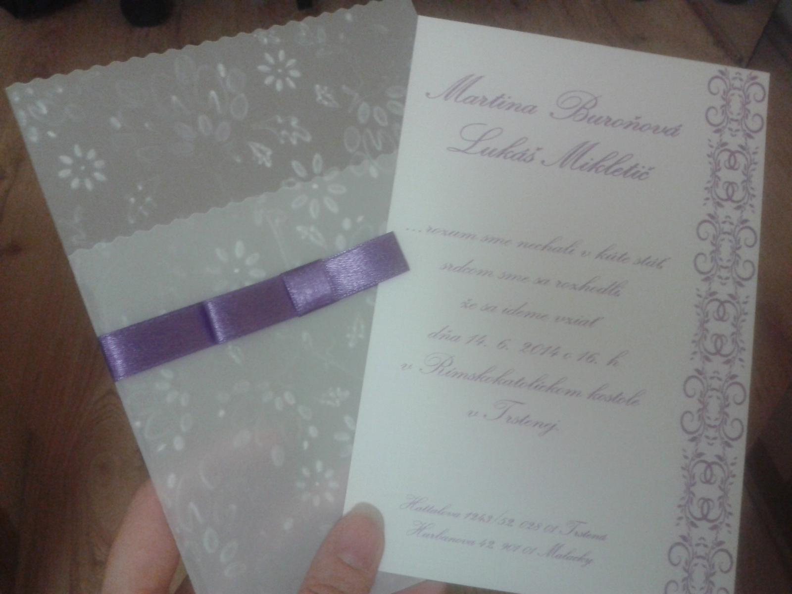 12c7668ed5 Ukážte Vaše svadobné oznámenia - - Svadobné oznám... - str. 2