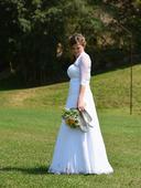 Svatební šaty vel. 40 - 44, 42