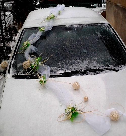 Čtyřlístková svatba- bílo zelená - Obrázek č. 5