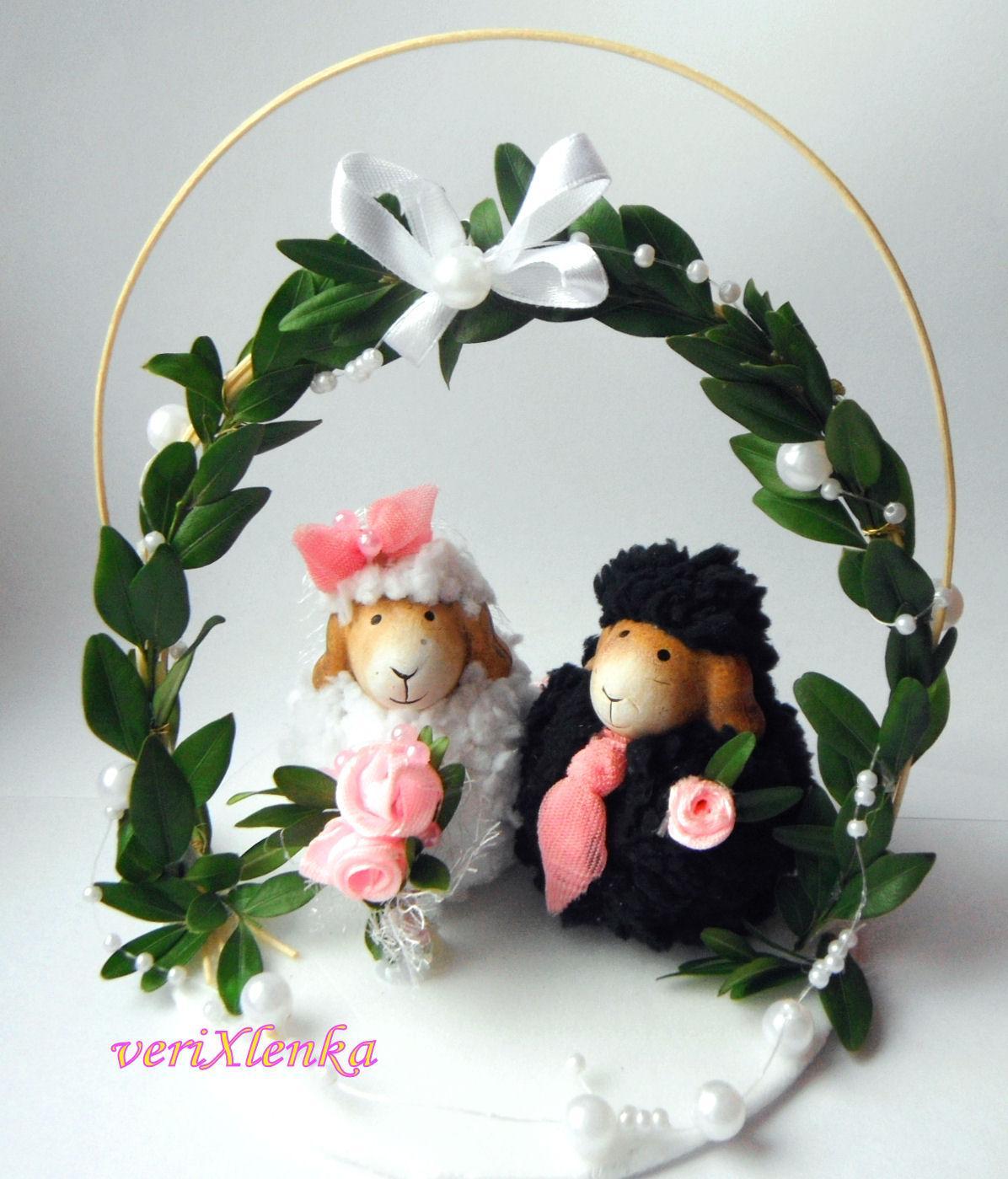 figurky na dort- ovečky - Obrázek č. 1