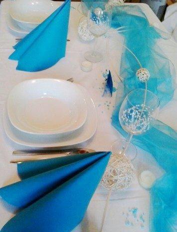 Sada k dekoraci svatebního stolu- na vlnách - Obrázek č. 1