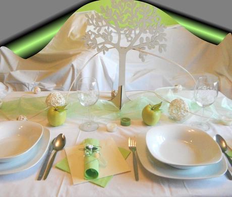 velká sada k dekoraci svatebního stolu- ekologická - Obrázek č. 1