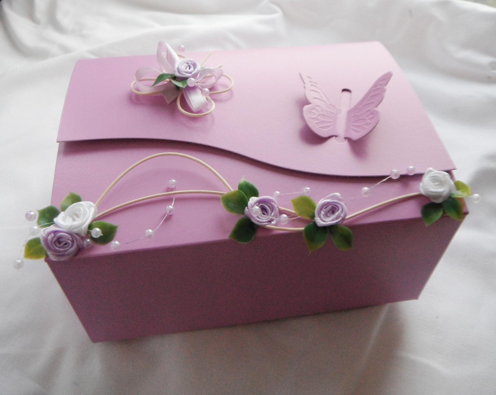 Krabička na výslužku- romantik2 - Obrázek č. 1