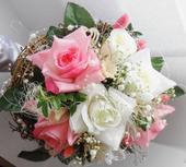 svatební kytice,která nezvadne,