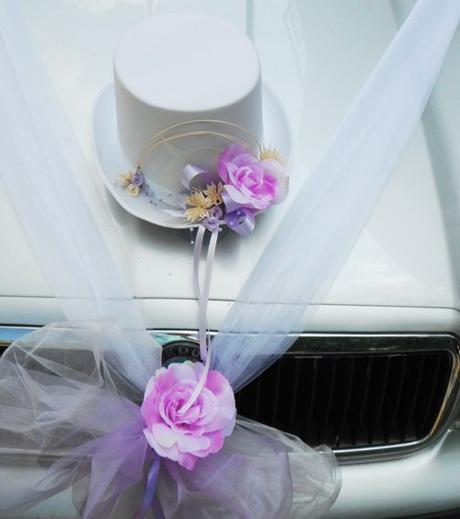 dekorace na auto- cylindr+šerpa - Obrázek č. 1