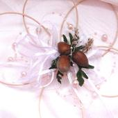 Dekorace na svatební auto - květ pro Popelku,