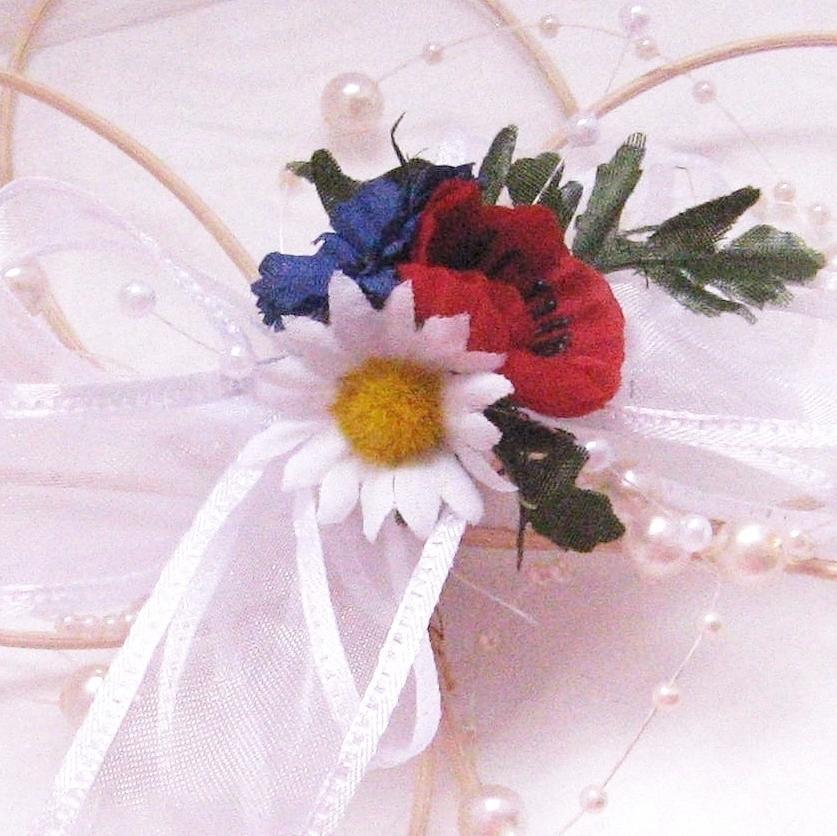 Dekorace na svatební auto - květ rozkvetlá louka - Obrázek č. 1