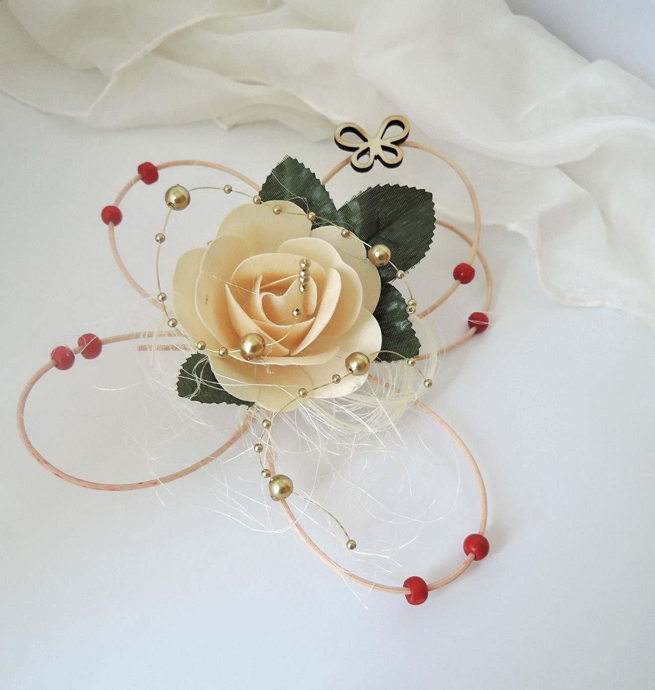 """Dekorace na svatební auto """"Motýli a květy"""" - Obrázek č. 2"""
