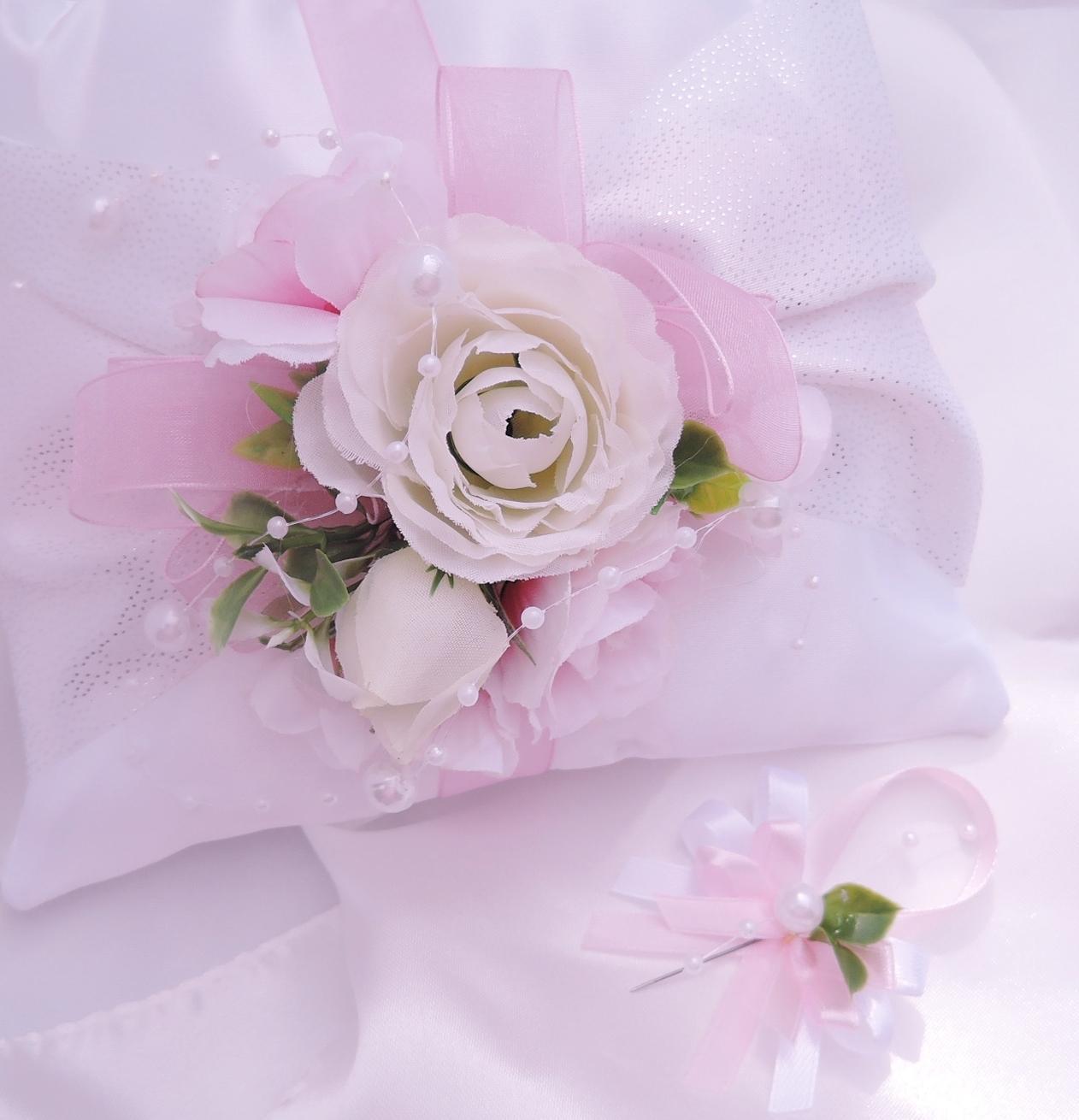 """Malá sada """"Bílá s růžovou"""" - Obrázek č. 1"""