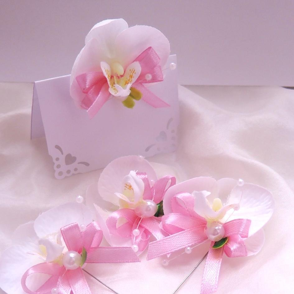 "malá sada ""Bílá orchidej 2"" - Obrázek č. 2"