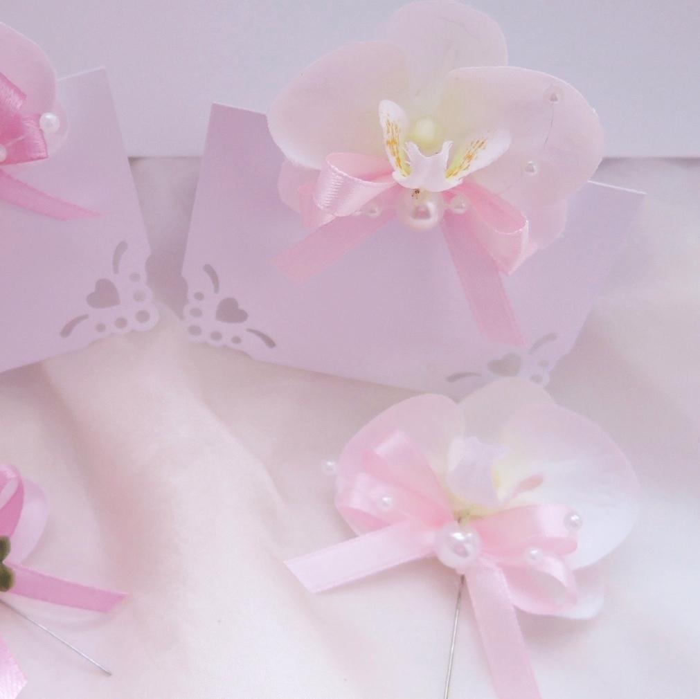 "malá sada ""Bílá orchidej 2"" - Obrázek č. 3"