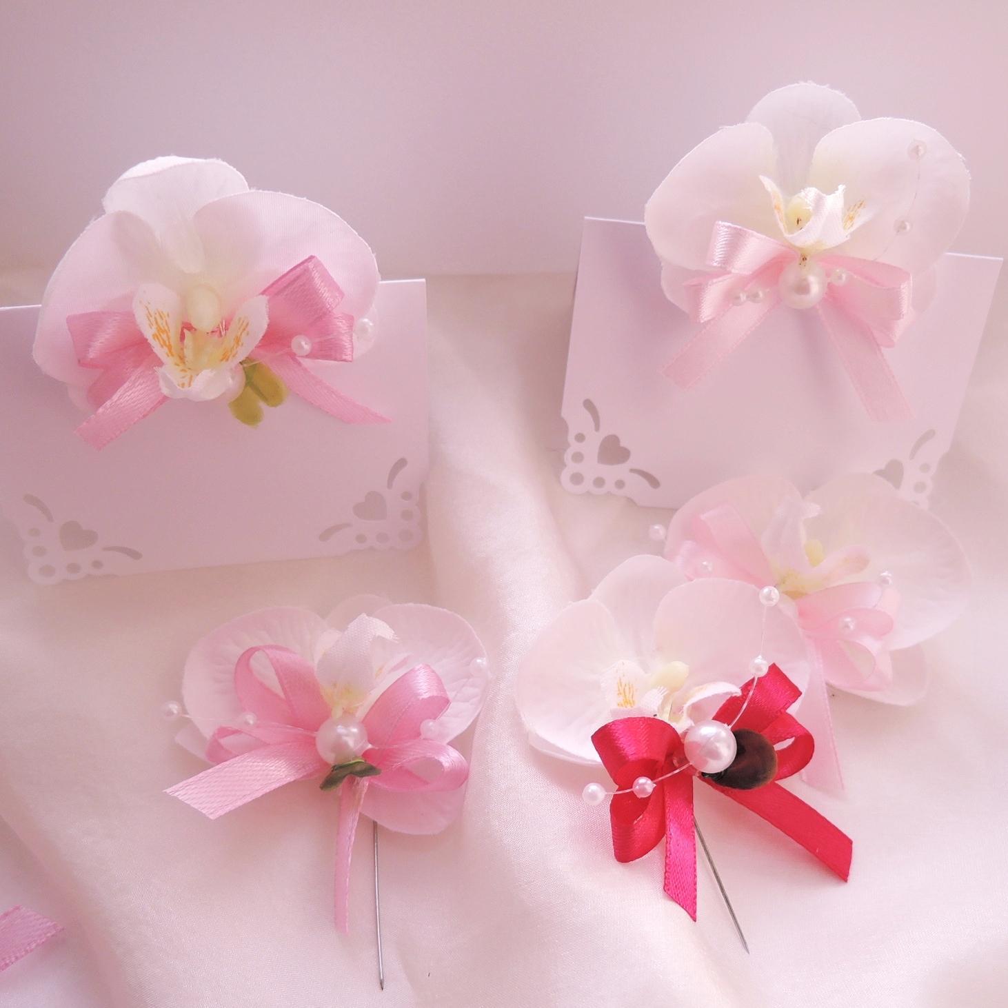 "malá sada ""Bílá orchidej 2"" - Obrázek č. 1"
