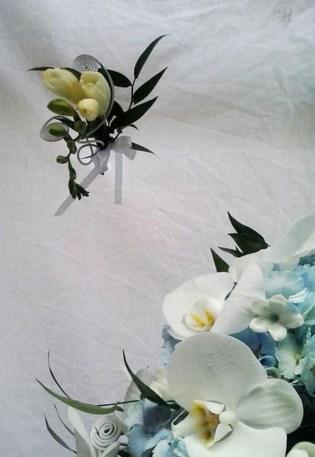 Svatební kytice převislá- tropické nebe - Obrázek č. 2