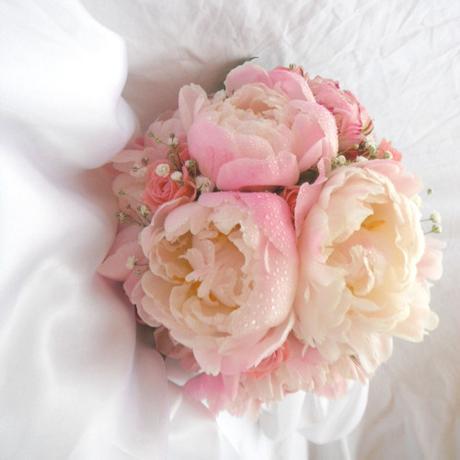 Svatební kytice- romantická pivoňková - Obrázek č. 1