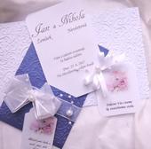 """svatební oznámení """"Kapsa"""","""