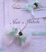 """svatební oznámení """"Kapsa 5"""","""