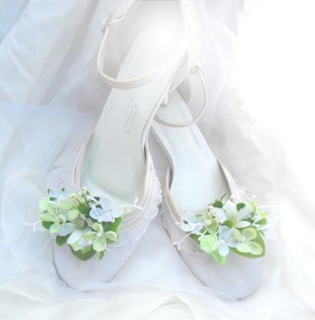 Klipy na boty- zelenkavé tóny - Obrázek č. 1