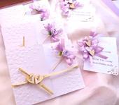"""svatební oznámení """"Motýlek"""","""