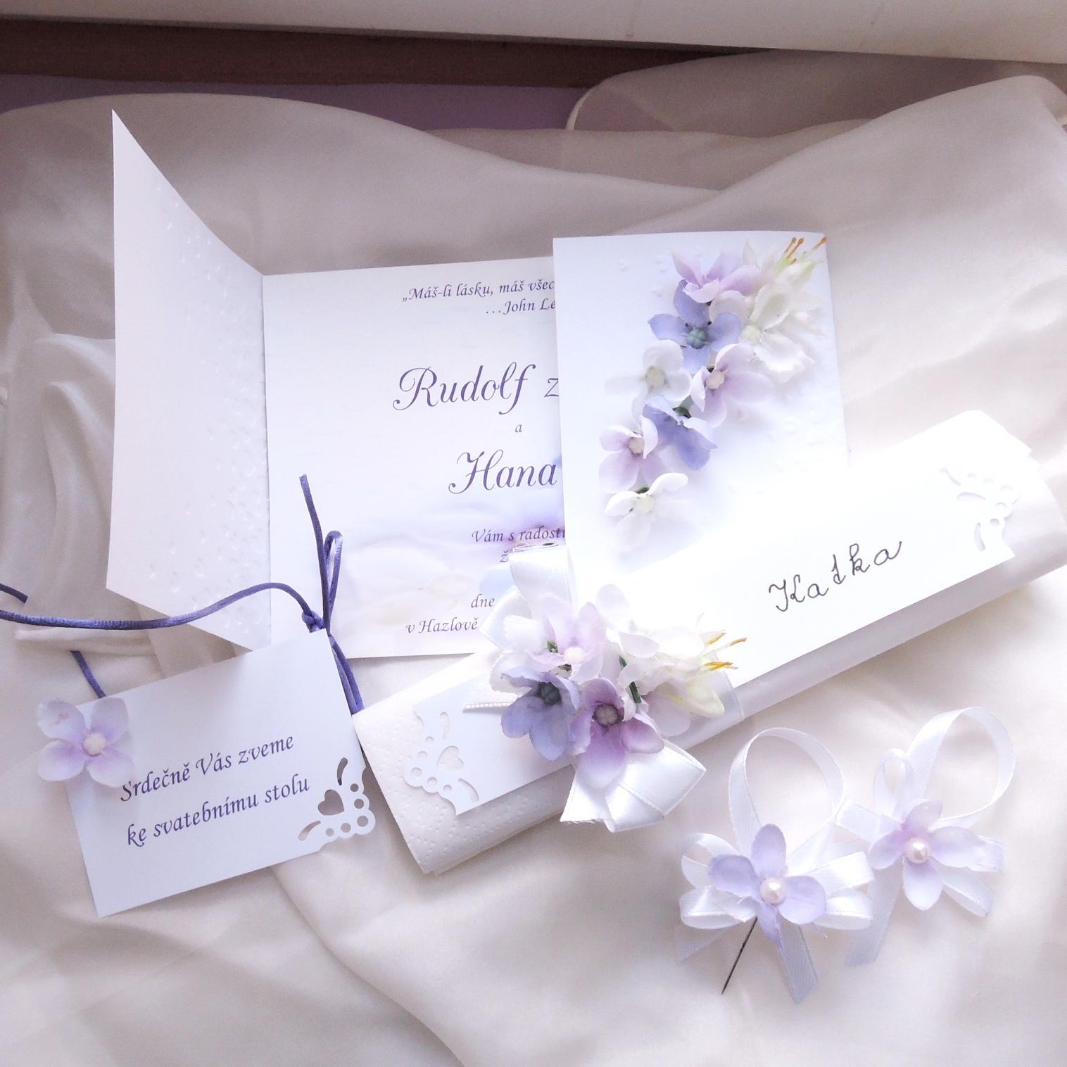 Květinová svatební sada - Obrázek č. 1
