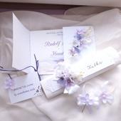 Květinová svatební sada,