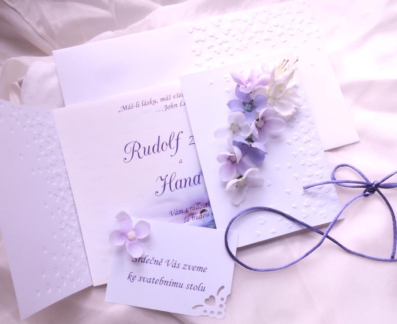 Květinová svatební sada - Obrázek č. 2