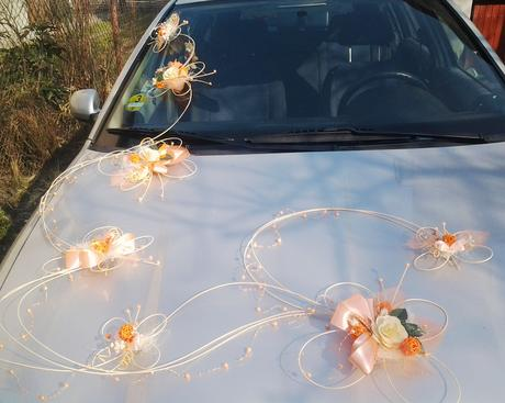 Výzdoba auta- 7 motýlů romantic - Obrázek č. 1