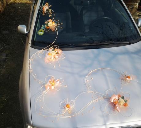 Výzdoba auta- 7 motýlů romantic - Obrázek č. 2