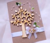 """svatební oznámení """"Strom 3"""","""