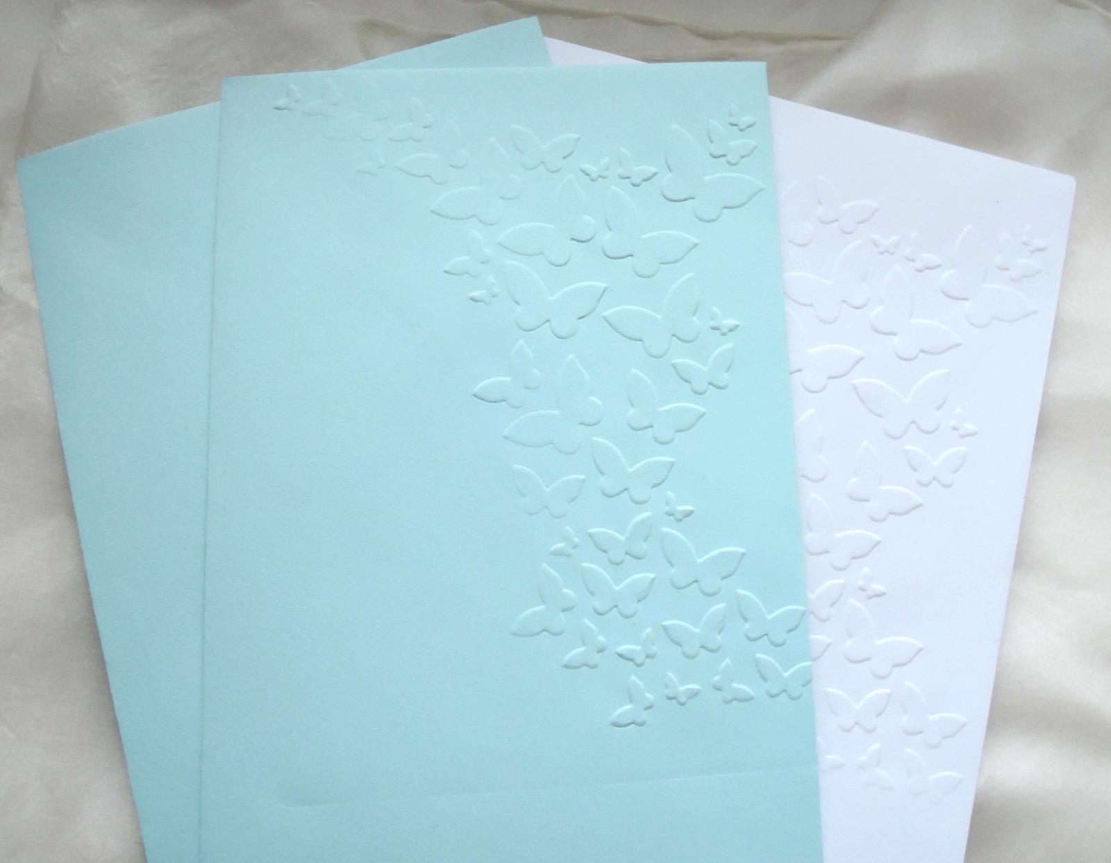"""svatební oznámení """"Elegant v modré"""" - Obrázek č. 3"""