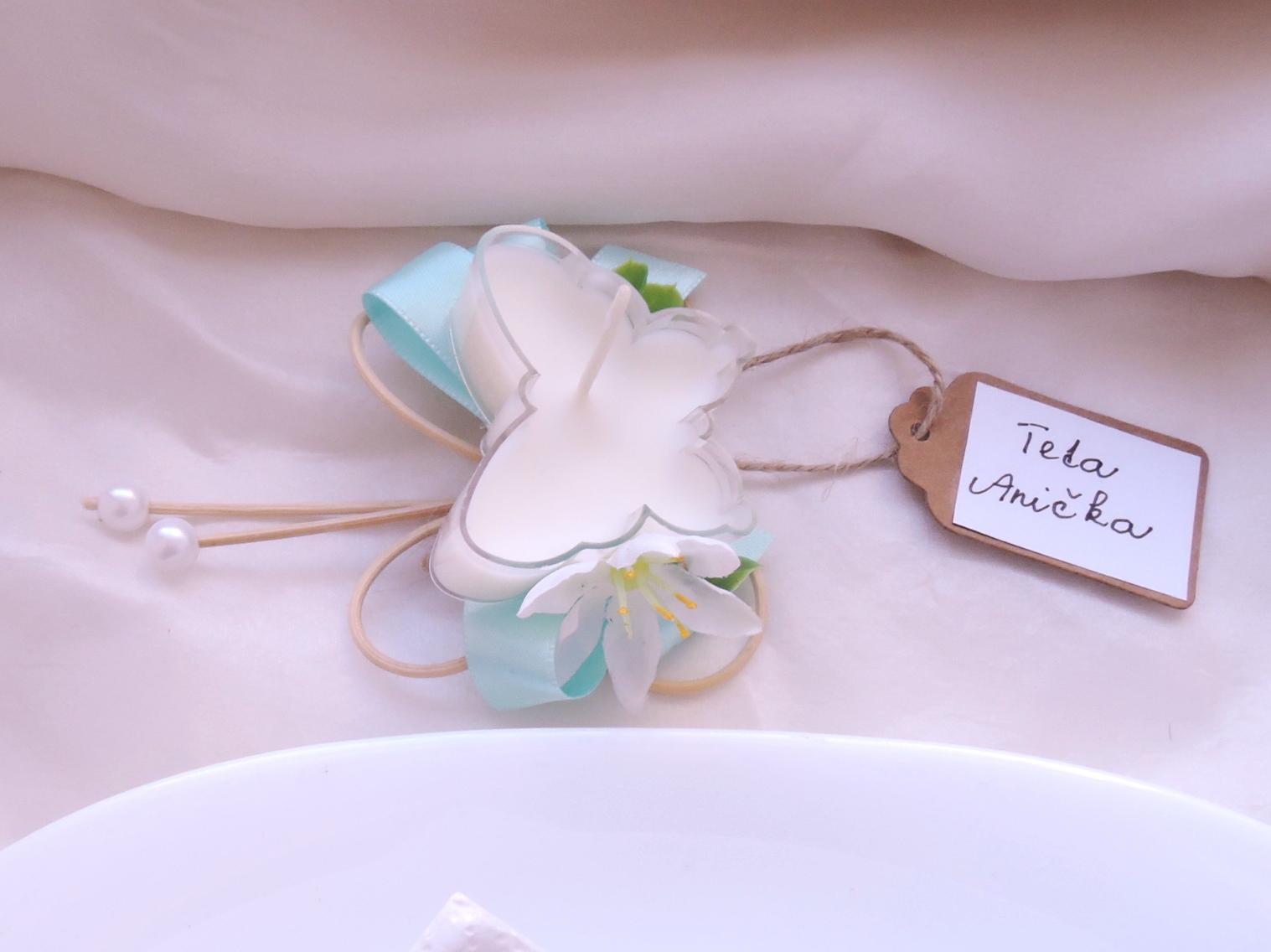 """dárek pro hosty - svícínek """"Motýlek"""" - Obrázek č. 3"""