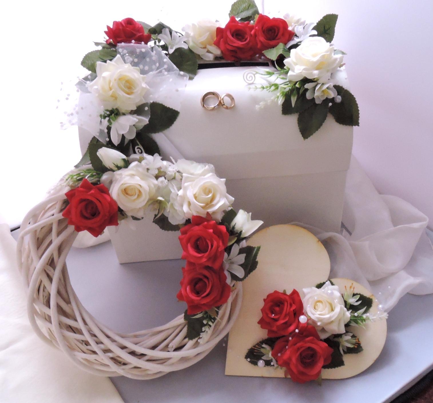 Svatební sada k pronájmu - Obrázek č. 1