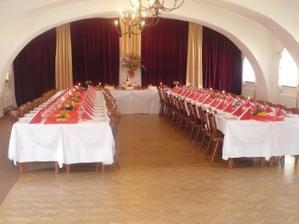 takhle vypadaly stoly