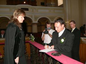 podpisovanie dokladov