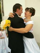 po gratuláciách sme sa mohli tešiť už aj spolu, že sme svoji .... ešte aj teraz sa mi to zdá také neuveriteľné :-)))