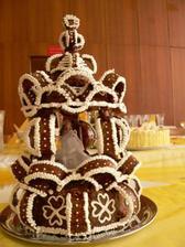 moja torta, ktorú som potom musela rozbiť :-(