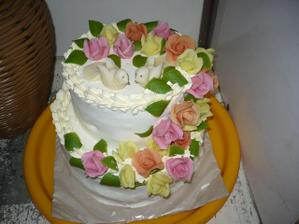 torta od súboristov s fajným marcipánom