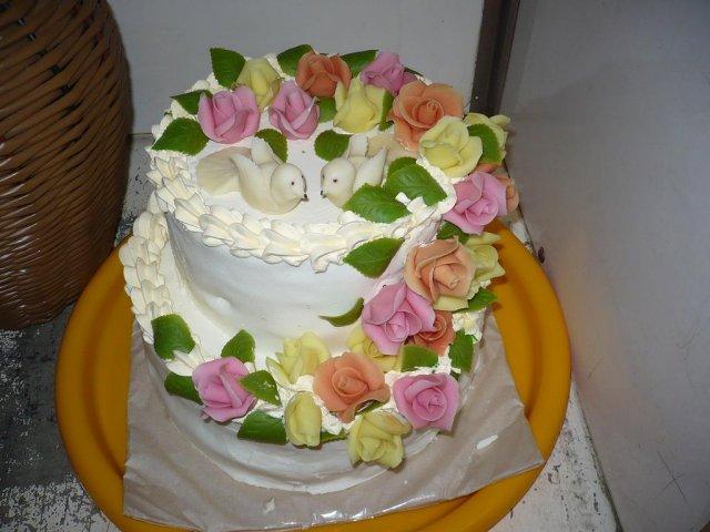 Topor Pál Judit{{_AND_}}Topor Ferenc - torta od súboristov s fajným marcipánom