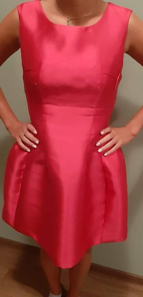 Krátke ružové šaty - Obrázok č. 1